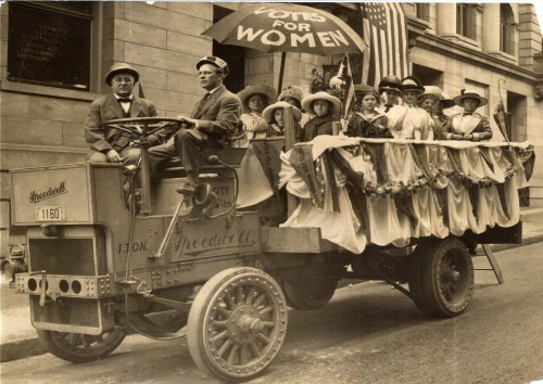 suffrage lunch wagon