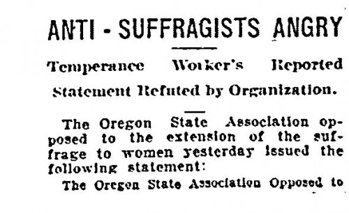 Anti suffragists 1