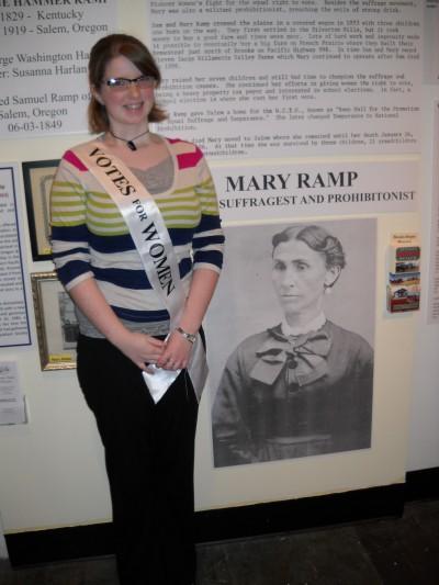 WOU Student Heidi Ramp