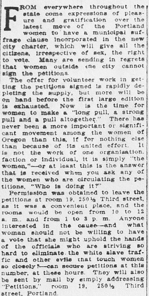 municipal suffrage