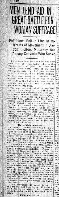 Men Lend Aid Jan 1912