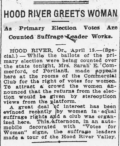 Hood River April 1912