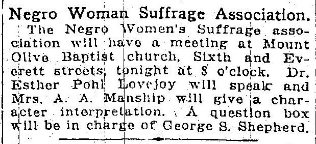 Woman's Suffrage Movement in America- Research Essay