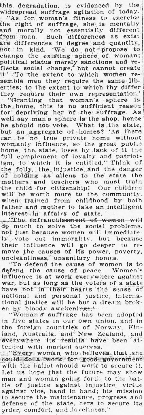 Evans OJ April 9 1911 5:7 part 2