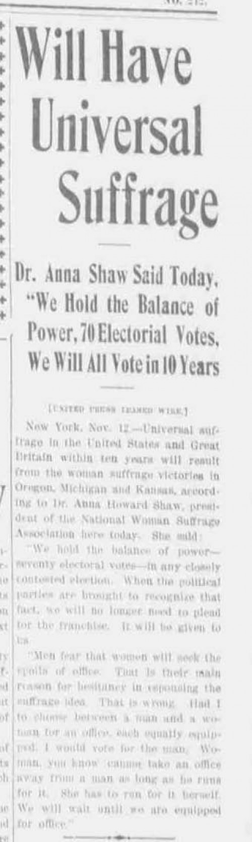 http://centuryofaction.org/images/uploads/Will_Have_Universal_Suffrage_Salem_Daily_Capital_Journal_November_12,_1912_1_thumb.jpg